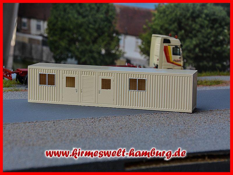 Kirmeswelt hamburg de werkstattcontainer barth bausatz for Wohncontainer bausatz