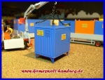 "STROMCONTAINER 10FUSS ""BAUSATZ""  Materialcontainer"