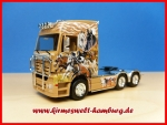 A ZUGMASCHINE MB ACTROS LH 02 MP2  3achsig Herpa110310-Sondermodell Truck n Roll